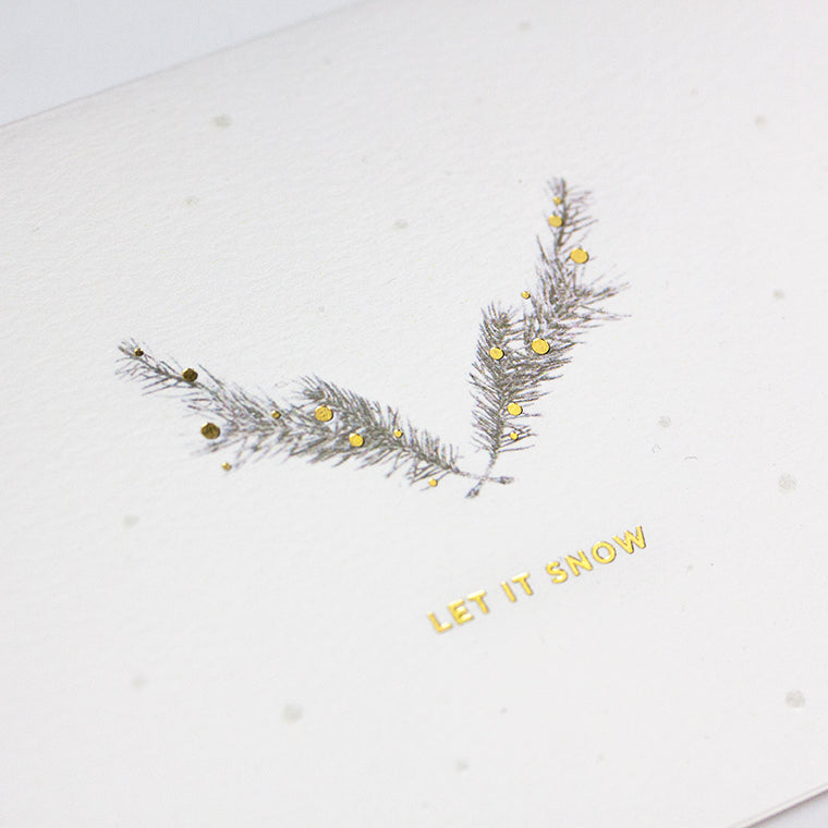 Let it Snow Pine (Single / Set of 10)