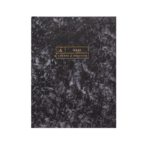 Stone Paper Ideas Notebook Charcoal - Hadron Epoch