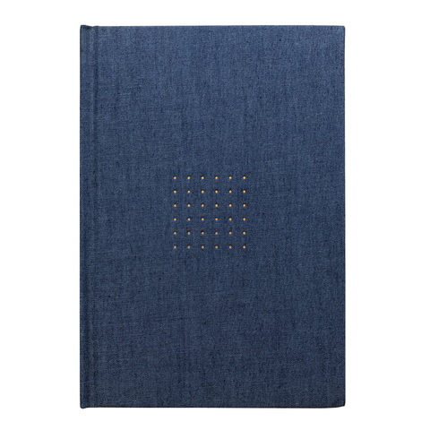 INK DOTTED DENIM JOURNAL - Hadron Epoch