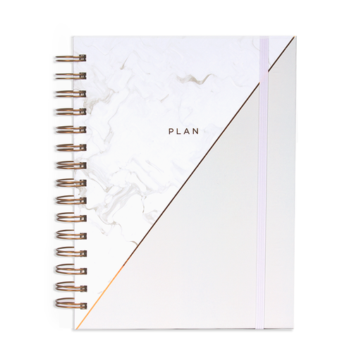 12M UNDATED PLANNER GRAY PEARL
