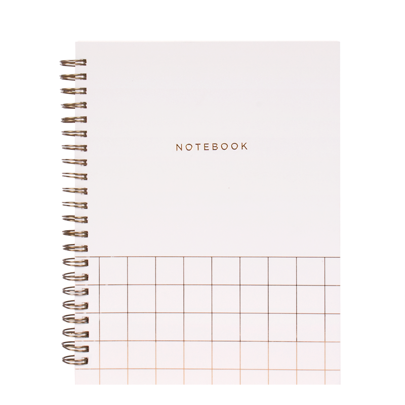 SPIRAL NOTEBOOK GRAY