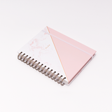 12M UNDATED PLANNER ROSE QUARTZ