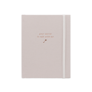 SMTWTFS Secret Keeper Hazelnut Cream (Password Book) - Hadron Epoch