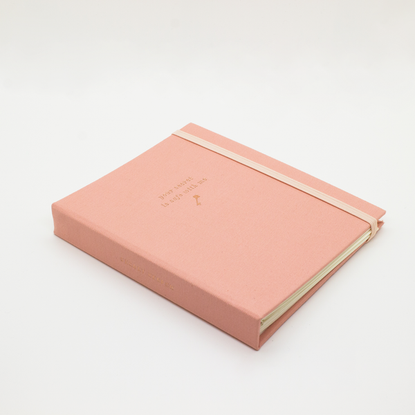 SMTWTFS Secret Keeper Coral Pink (Password Book) - Hadron Epoch