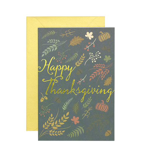 Happy Thanksgiving (Single / Set of 10)
