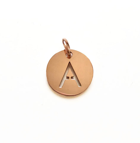 Pair of Rose Gold Pendants - Hadron Epoch