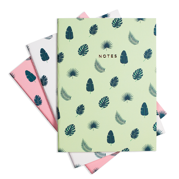 LARGE TROPICAL VIBES NOTEBOOK 3/SET - Hadron Epoch