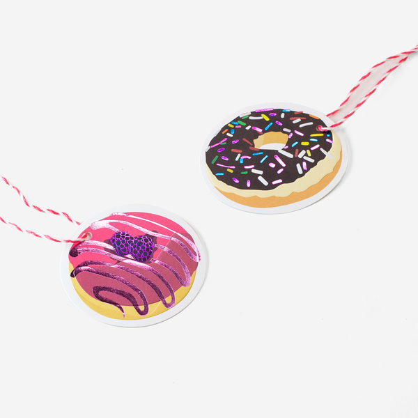 DONUTS GIFT TAGS - Hadron Epoch