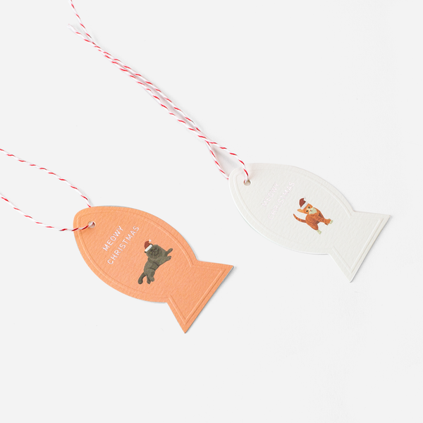 MEOWY CHRISTMAS GIFT TAGS - Hadron Epoch