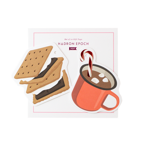 S'MORES CHRISTMAS GIFT TAGS - Hadron Epoch
