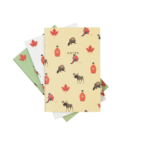 MINI CANADA NOTEBOOK 3/SET - Hadron Epoch