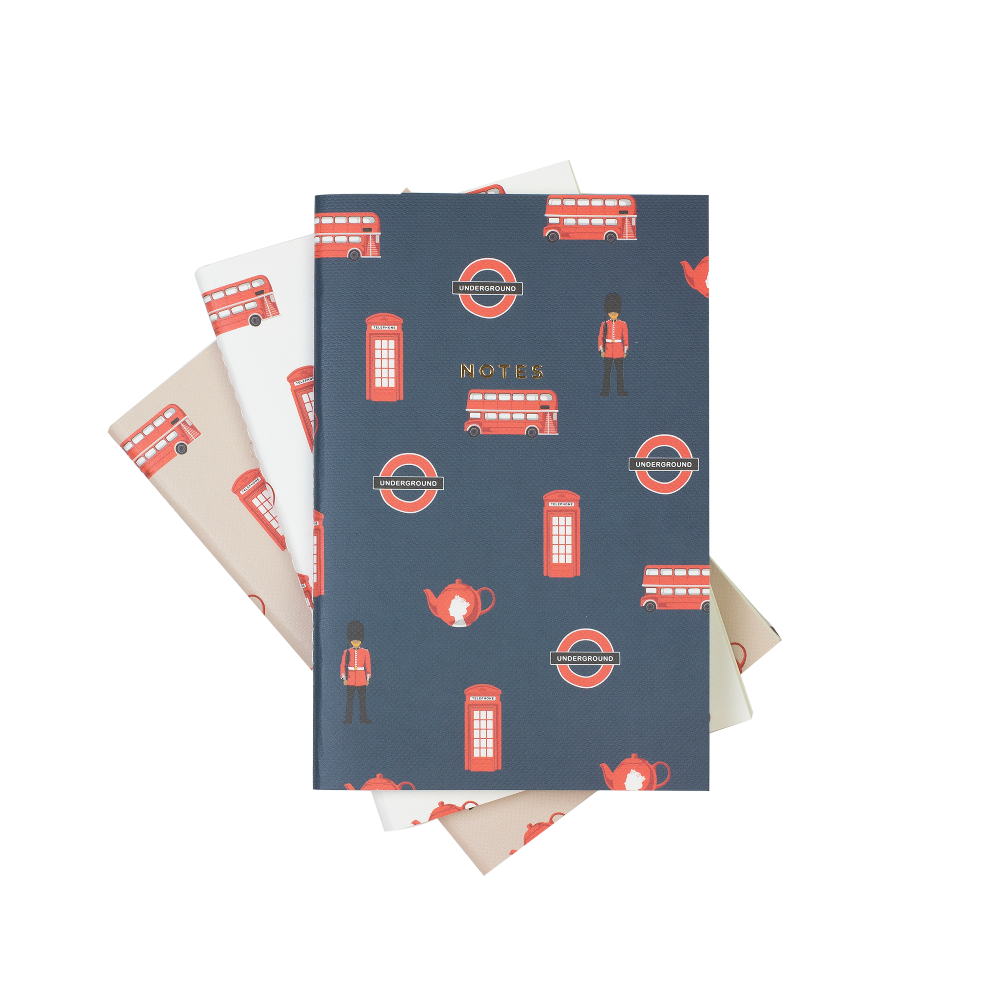 MINI LONDON NOTEBOOK 3/SET - Hadron Epoch