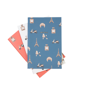 MINI PARIS NOTEBOOK 3/SET - Hadron Epoch
