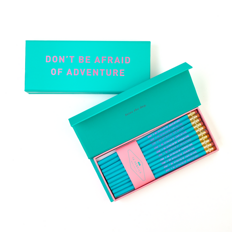 DON'T BE AFRAID OF ADVENTURE PENCIL BOX - Hadron Epoch