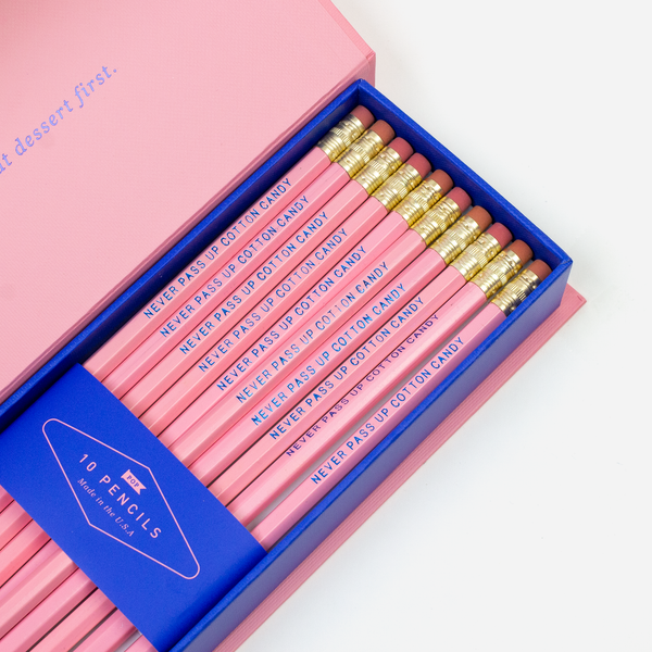 NEVER PASS UP COTTON CANDY PENCIL BOX - Hadron Epoch
