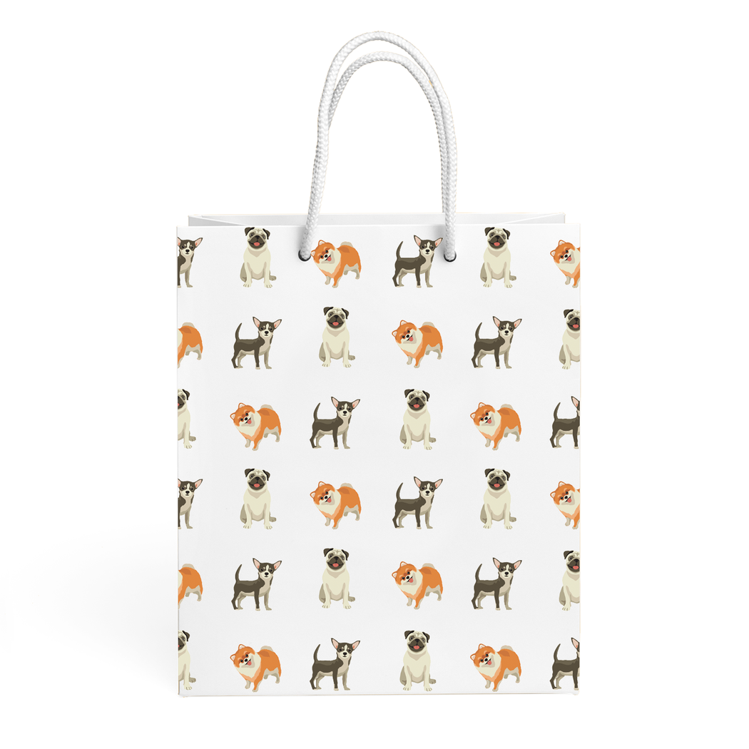 DOGS PATTERN GIFT BAG