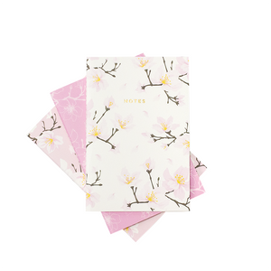 MINI CHERRY BLOSSOM NOTEBOOK 3/SET - Hadron Epoch