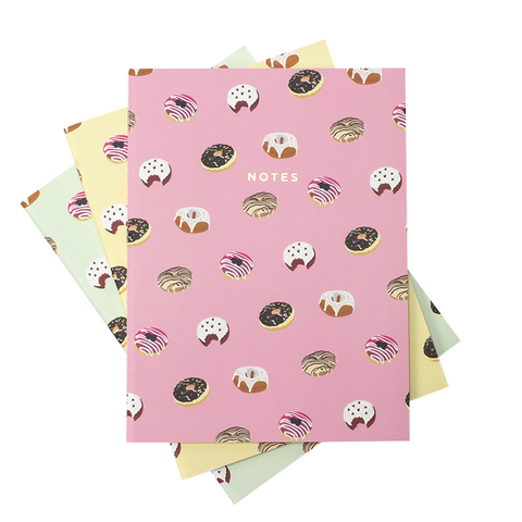 LARGE DONUTS NOTEBOOK 3/SET - Hadron Epoch