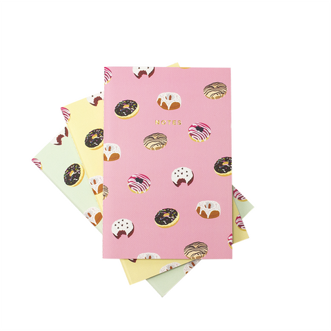 DONUTS NOTEBOOK 3/SET (S/L) - Hadron Epoch