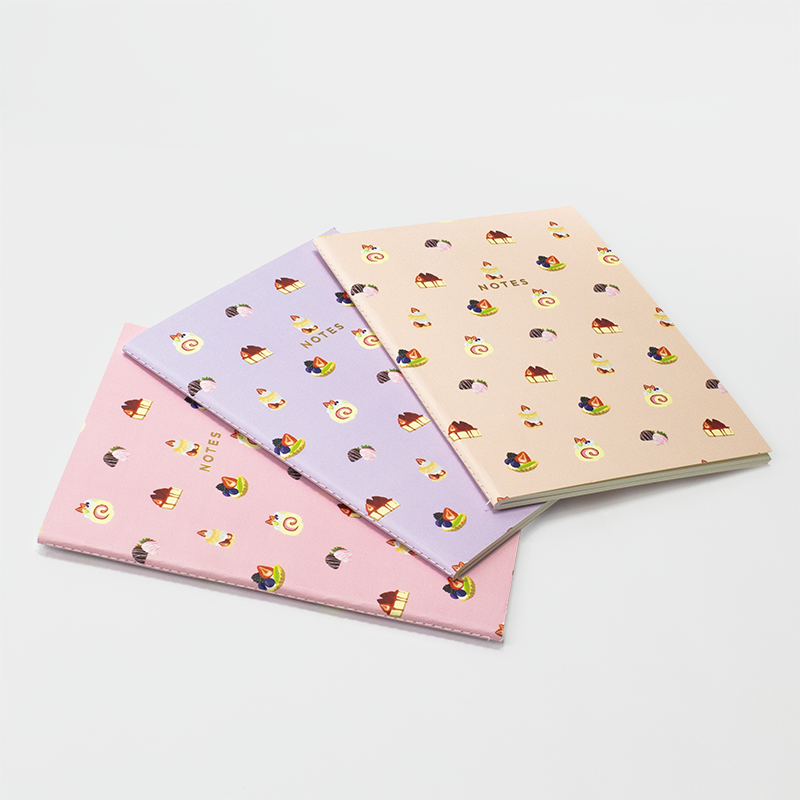 FRENCH PASTRIES NOTEBOOK 3/SET (S/L)