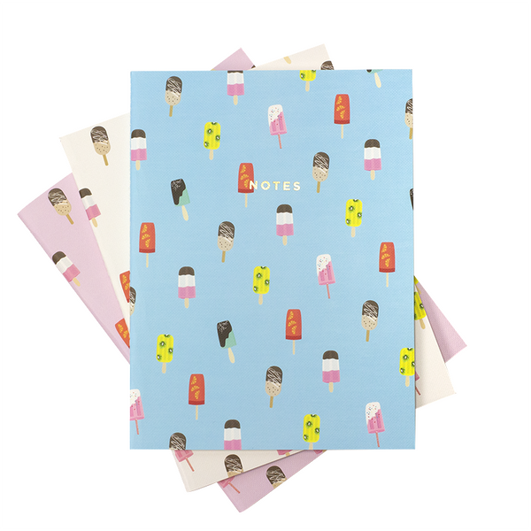 LARGE POPSICLES NOTEBOOK 3/SET - Hadron Epoch