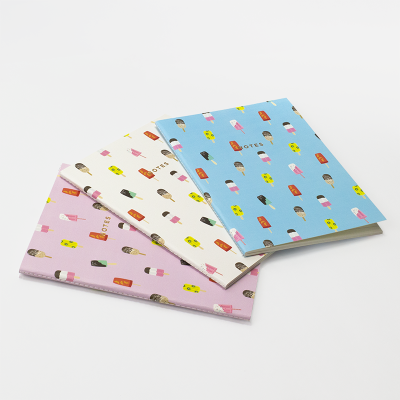 POPSICLES NOTEBOOK 3/SET (S/L)
