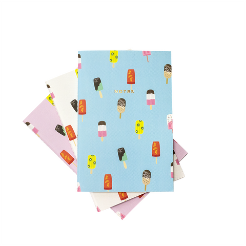 POPSICLES NOTEBOOK 3/SET (S/L) - Hadron Epoch