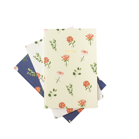 MINI ROSES NOTEBOOK 3/SET - Hadron Epoch