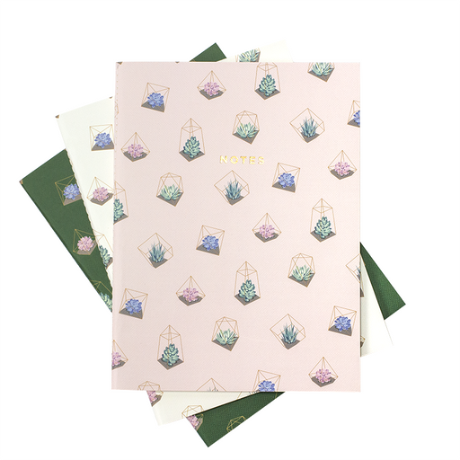 TERRARIUM NOTEBOOK 3/SET (S/L)