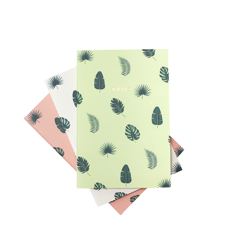 MINI TROPICAL VIBES NOTEBOOK 3/SET - Hadron Epoch