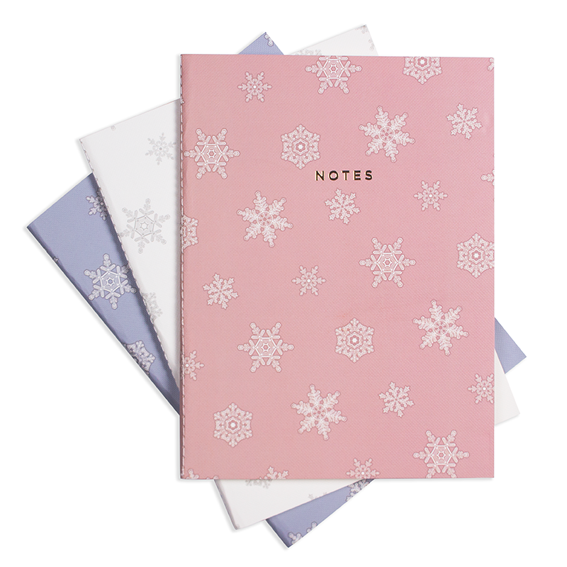 LARGE LET IT SNOW NOTEBOOK 3/SET - Hadron Epoch