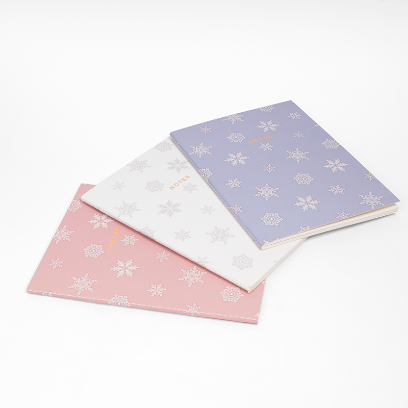 "LET IT SNOW NOTEBOOK (3/SET) 6"" x 8"""