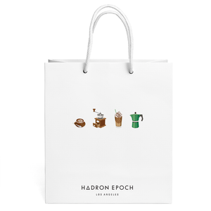 COFFEE PATTERN GIFT BAG - Hadron Epoch