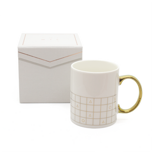 SMTWTFS Grid Mug W/ Packaging - Hadron Epoch