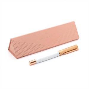 SMTWTFS Pen W/ Packaging Coral Pink - Hadron Epoch