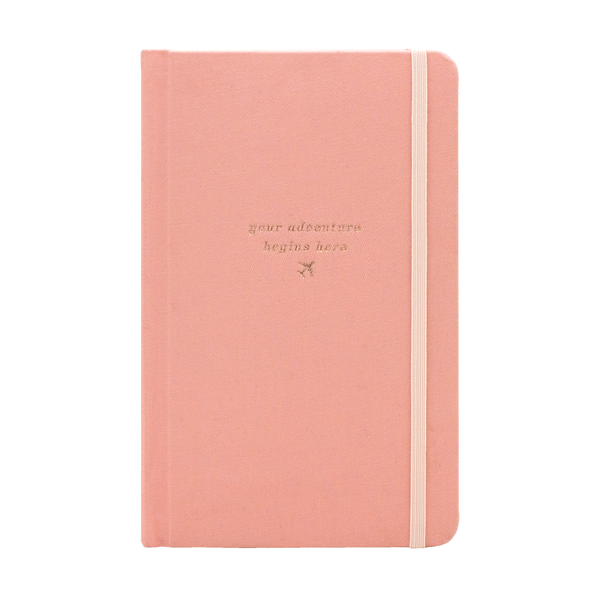 SMTWTFS Travel Journal Coral Pink - Hadron Epoch