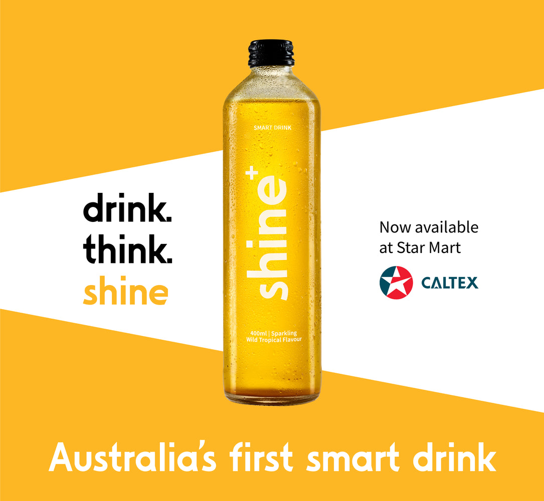 CALTEX TAKES A 'SHINE+' TO NEW THINK DRINKS