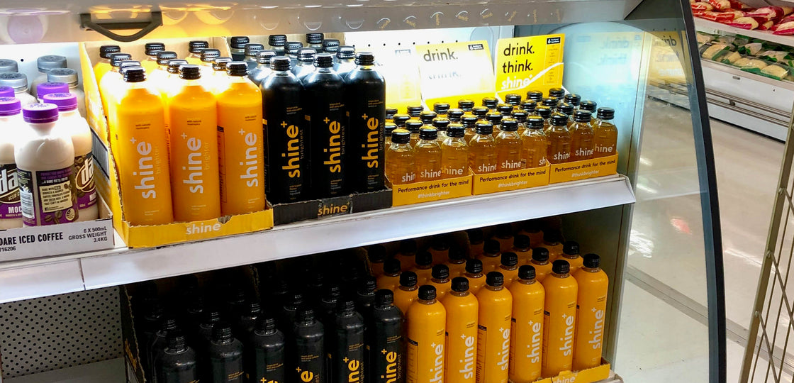 Shine Drink Now In Selected Coles!