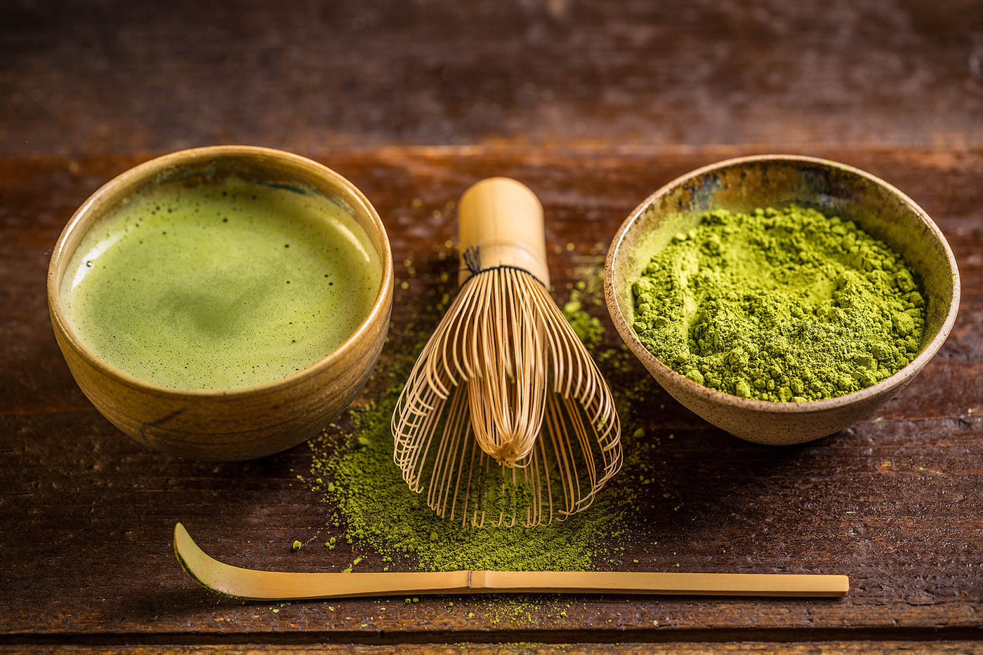 FOUR GREEN TEA BEAUTY ALTERNATIVES