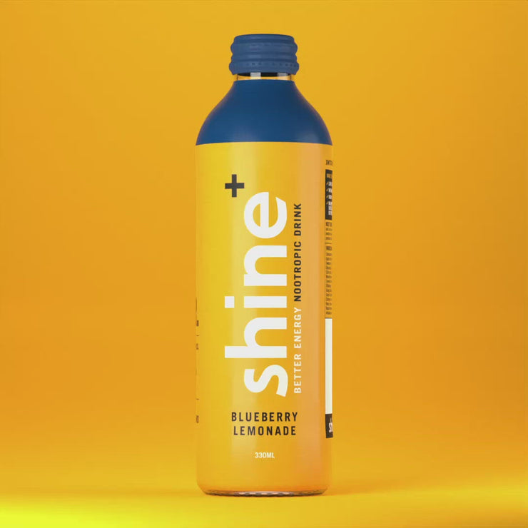 Shine+ Blueberry Lemonade 330ml x 12