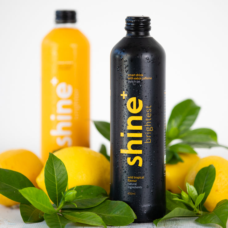 Shine+ Wild Tropical Extra Caffeine 400ml x12