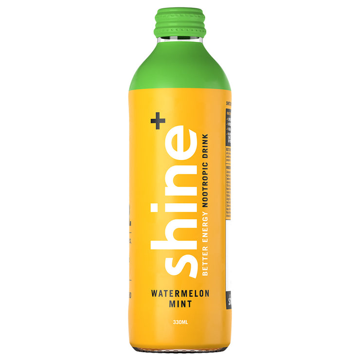 Shine+ Watermelon Mint 330ml x 12