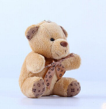 Plush Toy Teddy Bear Doll Pendant Keychain Toy Gift 10cm