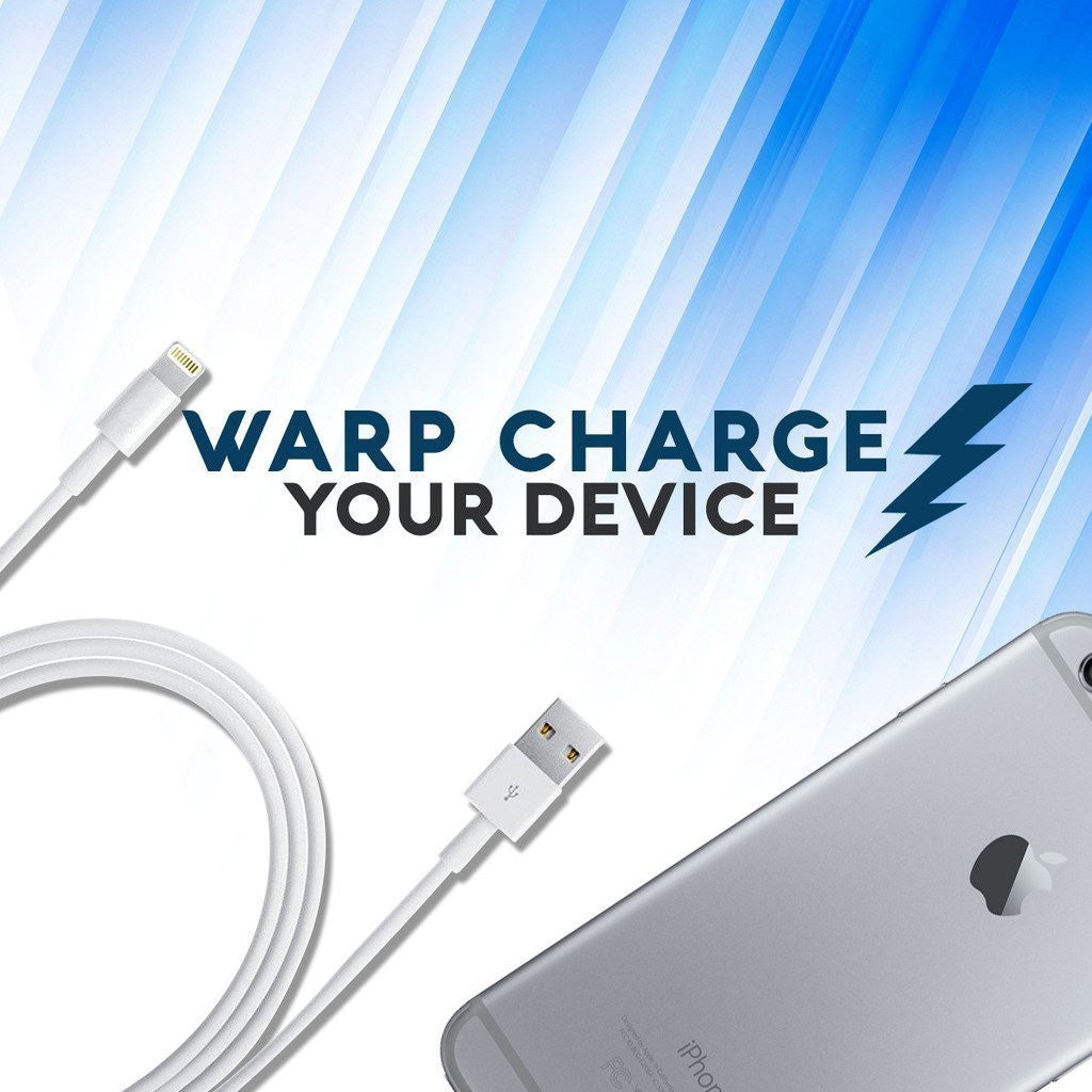 Lightning Cables for iPhone SE / 6s Plus / 6 Plus / 6s / 6 / 5s / 5 / 5c / 7 / - 3ft USB Sync and Charge