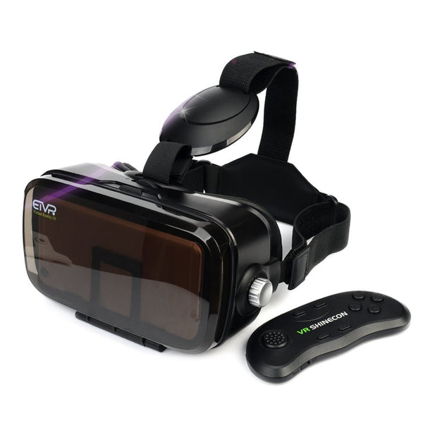 "VR Headset With Remote Controller-Unique Virtual Reality Experience For Movies Games, More Comfortable VR Glasses Goggles Fit For 4.5""-6.2"" iPhone7/6/ 6s plus, Samsung S5/6/7 Edge Etc."