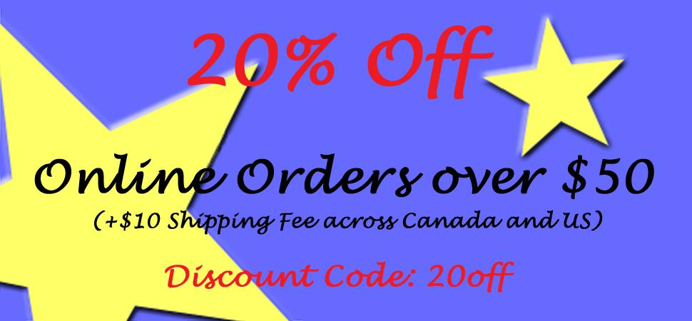 20% Off Discount
