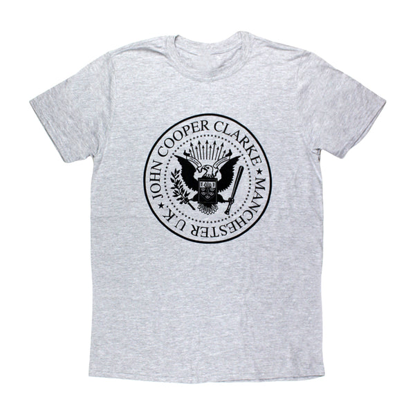 RAMONES INSPIRED GREY T-SHIRT