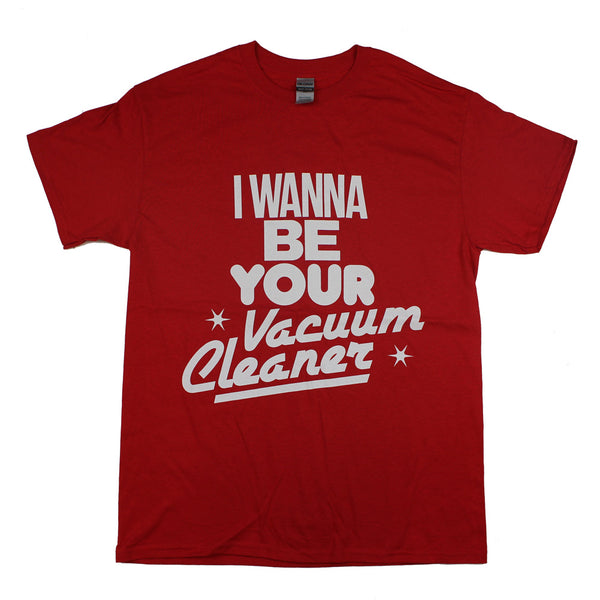 VACUUM CLEANER RED T-SHIRT