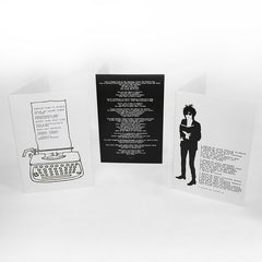 OFFICIAL LIMITED EDITION JOHN COOPER CLARKE CARDS