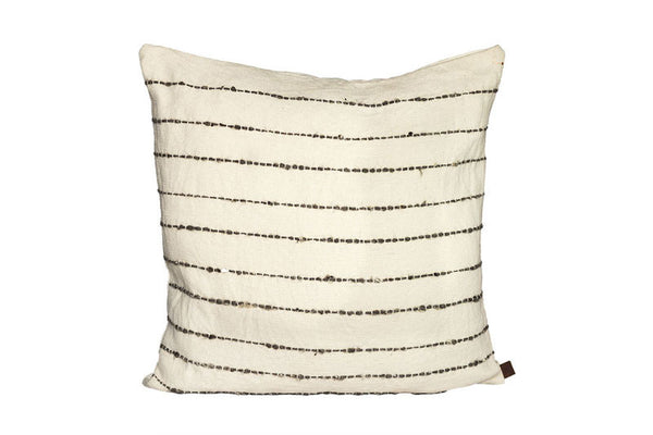 Lined Pillow -Grey